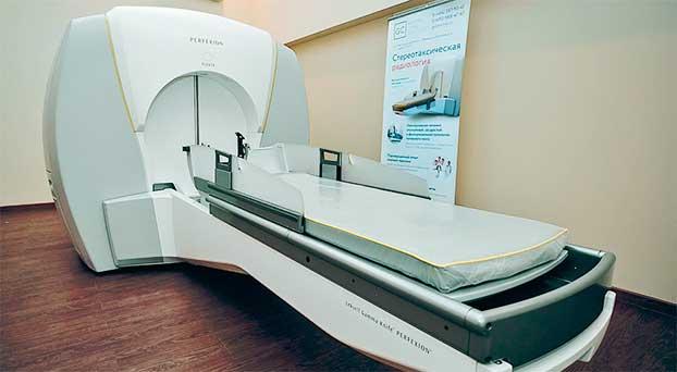 Аппарат Gamma Knife Perfexion для лечения опухолей головного мозга